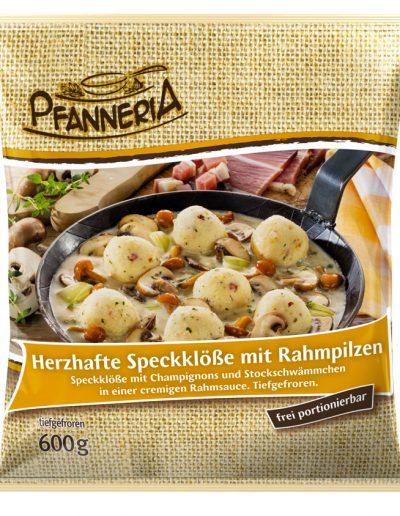 we-Pfanneria-Speckkloese-mit-Rahmpilzen